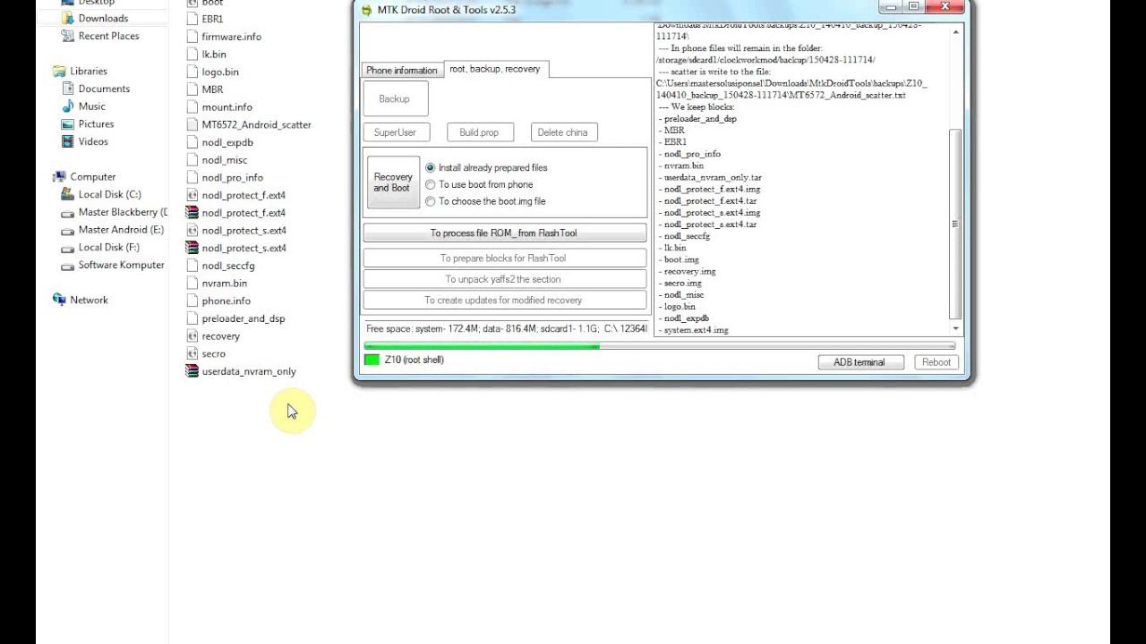 backup ROM Z10 MTK 6572