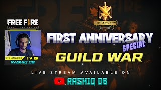 🛑 PULIMADA VS CHATHANZZ 🛑 THE LAST CREW FIRST ANNVERSARY  GUILD WAR🛑 RASHIQ DB IS LIVE 🛑