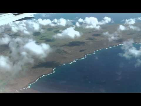 Flight to Easter Island