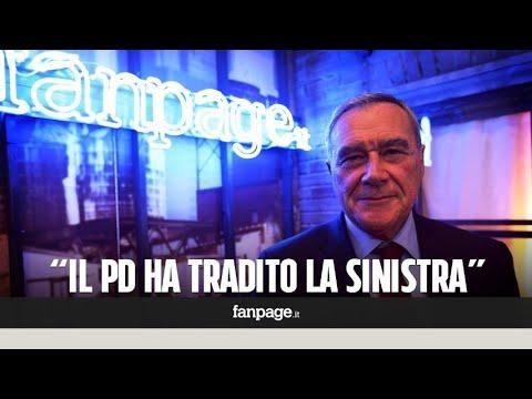 """Pietro Grasso (LeU): """"Il voto utile per Renzi sarà il voto utile per il governo con Berlusconi"""""""