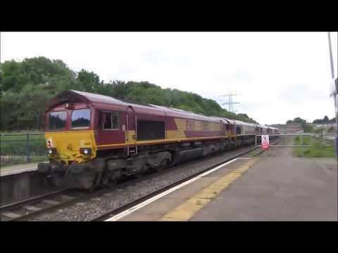 Train at Filton Abbey Wood - SWML - HST Diverts - 27/05/2017