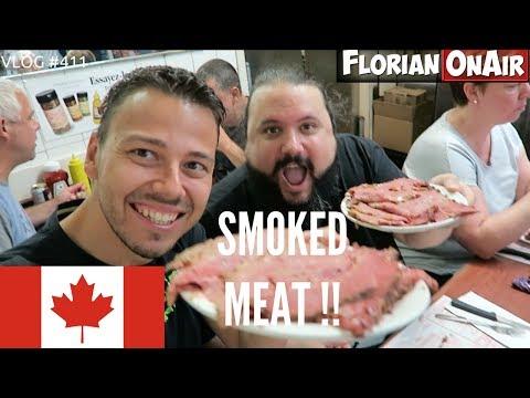 "Une ENORME ASSIETTE de ""SMOKED MEAT"" à MONTREAL! - VLOG #411"