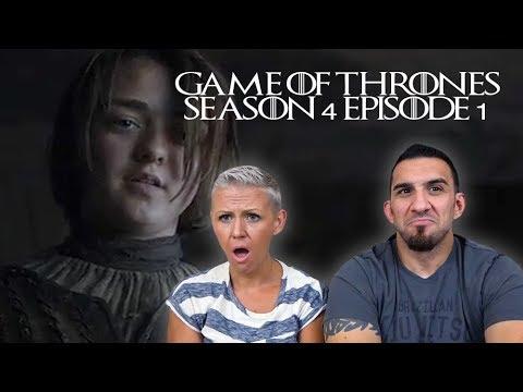Game of Thrones Season 4 Episode 1 'Two Swords' REACTION!!