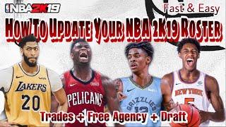 NBA 2K19 MyLEAGUE #10 Ultra Realistic | 2019 NBA Draft