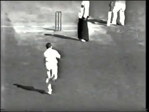 RARE  Sir Len Hutton 79 vs Australia 5th test 1950 51