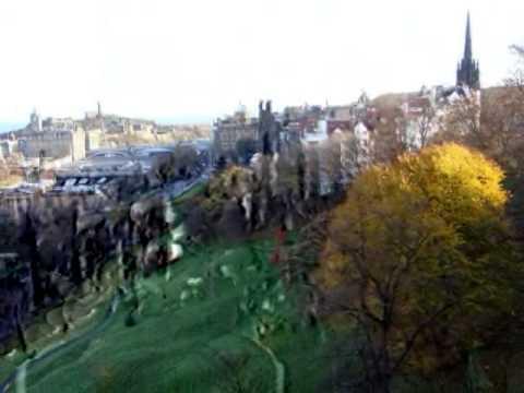 Travelling in Edinburgh