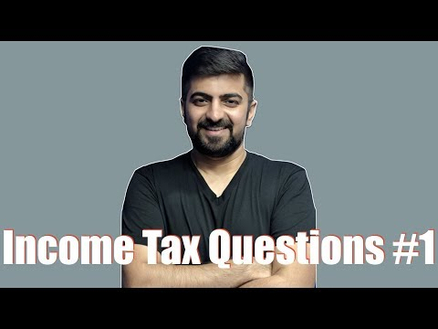 Income Tax Questions For November 2018 #1