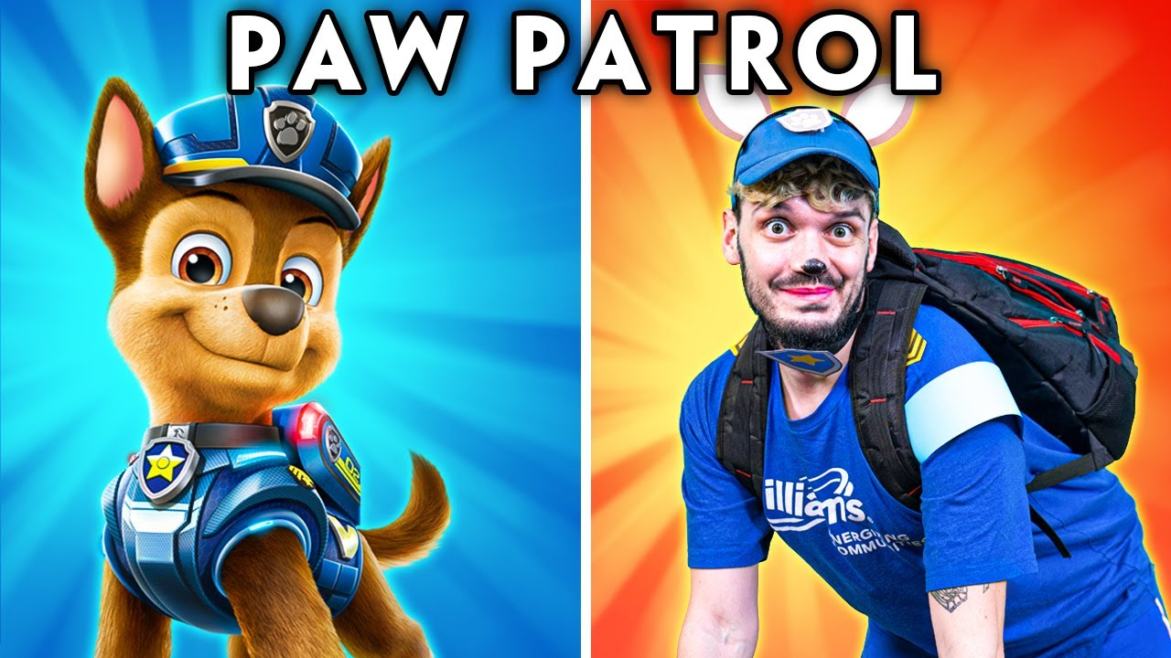 PAW PATROL CHARACTERS IN REAL LIFE! (PAW PATROL FUNNY ANIMATED PARODY) | Hilarious Cartoon