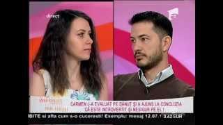 Carmen şi Dănuţ au ajuns la concluzia că nu se potrivesc