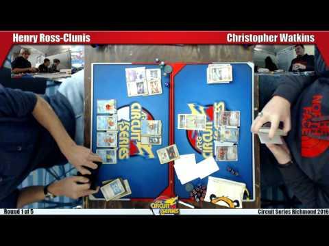 ARGCS Pokemon Invitational R1 - Henry Ross-Clunis vs Christopher Watkins - 12-17-16