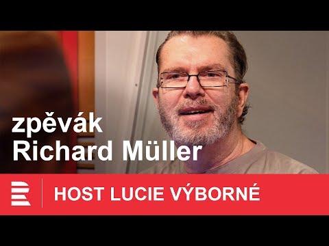 Co jsem přestal pít, fetovat a kouřit, jsou setkání s lidmi nerajcovní, přiznává Richard Müller