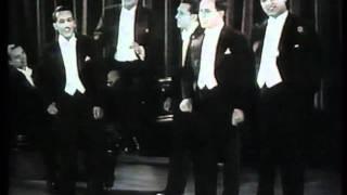 Comedian Harmonists (original ensemble) 1931 rare footage.