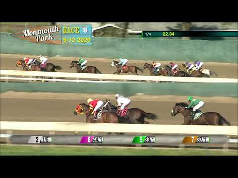 video thumbnail for MONMOUTH PARK 09-12-20 RACE 9