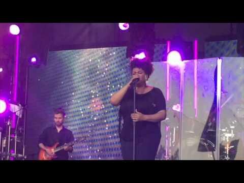 Jill Scott on Jimmy Kimmel Live 2015
