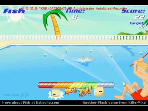 Fish for girls a free online game at for Fishing games for girls
