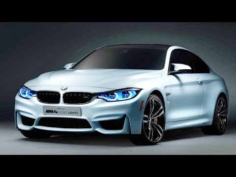 Bmw M4 Iconic Lights Concept At Ces 2015 Youtube