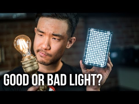 How to Know if Your Film Light is ANY Good | CRI Vs. TLCI Explained