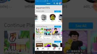 Wadadaw I first played with my friend (Roblox Indonesia)
