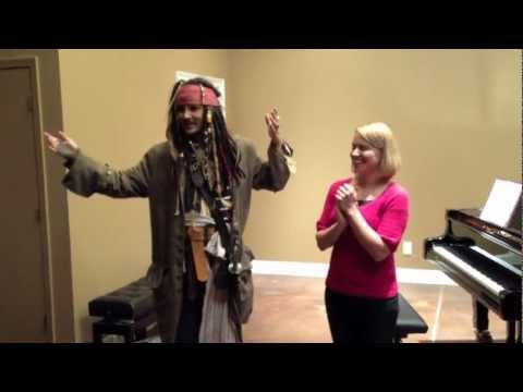 Pirates of the Caribbean - Piano Solo with Impersonator