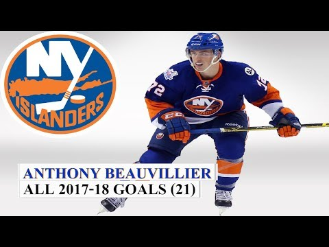 Anthony Beauvillier (#72) All 21 Goals Of The 2017-18 NHL Season