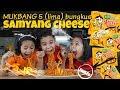 MUKBANG 5 BUNGKUS SAMYANG CHEESE CHALLENGE!!