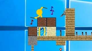 Download Note Blocks - Animation vs. Minecraft Shorts Ep. 5 (music by AaronGrooves) Mp3 and Videos