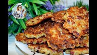 Вкусный завтрак! Рваные гренки с колбасой и хрустящей корочкой. Просто и вкусно!