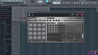 how to use fpc fruity pad controller in fl studio