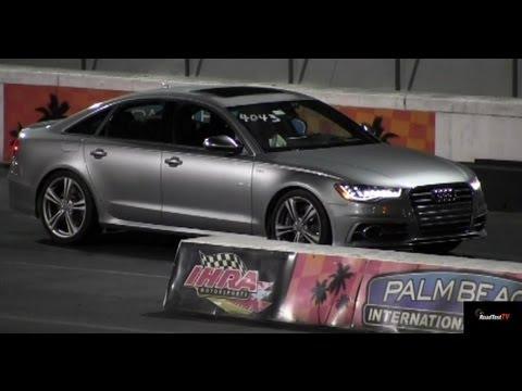 500 hp 2013 audi s6 v8 biturbo with unitronic tune drag video 11 7 116 mph road test tv. Black Bedroom Furniture Sets. Home Design Ideas