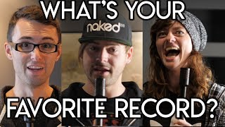 asking music youtubers whats your favorite record? spectre sound studios