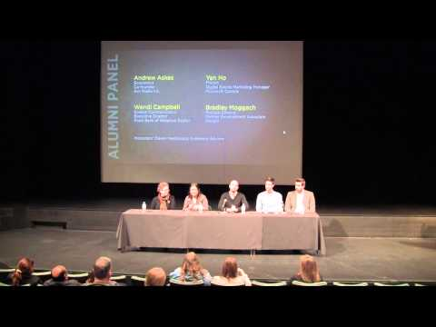 Arts Alumni Panel: Making the degree their own