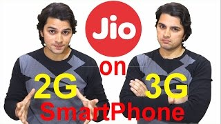 Use Reliance Jio Services on 2G/3G SmartPhone [Hindi-हिन्दी]