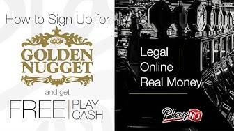 Easy Sign Up At Golden Nugget Online Casino | $20 FREE No Deposit With Bonus Code PLAY20
