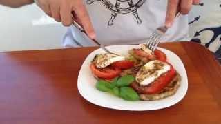 Eggplant Mozzarella Stacks for Sailors