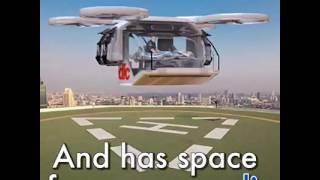بالفيديو.. اختراع طائرة إسعاف جديدة بدون طيار