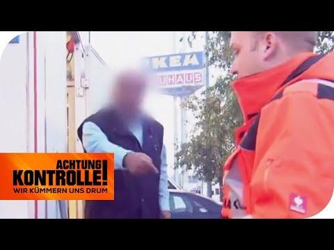 Dönermann steht falsch auf dem Flohmarkt: Was nun?   Achtung Kontrolle   kabel eins
