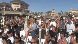Here in HB - Andy Irons Memorial Paddle Out, November 14th, 2010