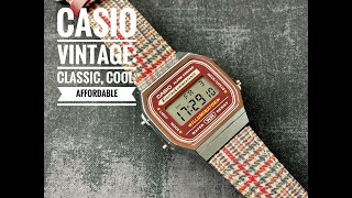 Unboxing the Casio Vintage Square (A168WEFL5AVT): Affordable Classic Cool Style