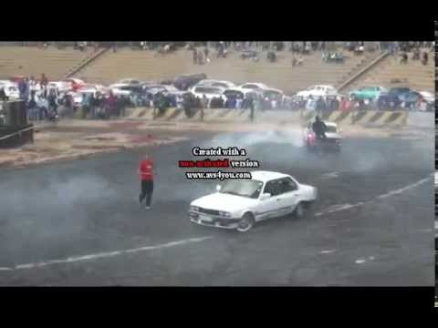 Spinning Cars All Day Everyday In Sa Masiza Stadium