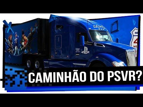 Caminhão do Playstation??? Realidade Virtual