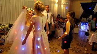 Бросание букета, подвязки, снятие фаты и танец с незамужними на свадьбе 2018 Запорожье ведущая Мария