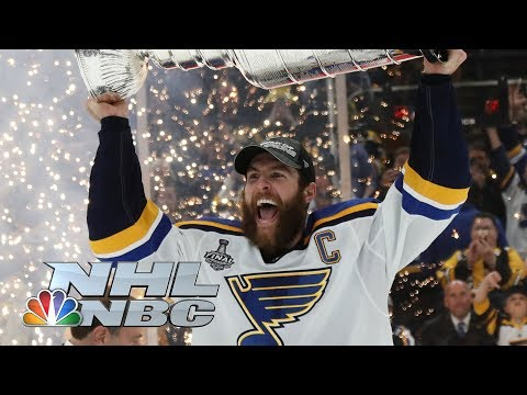 None - Blues Beat Bruins To Hoist First Stanley Cup