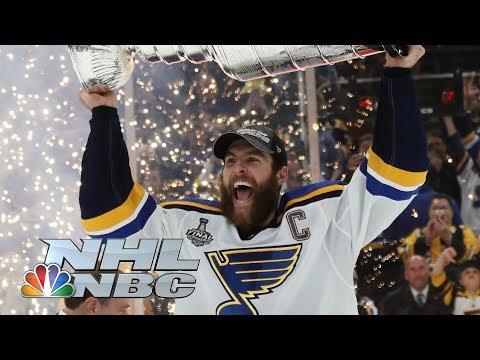 NHL Stanley Cup Final 2019: Alex Pietrangelo, St. Louis Blues hoist Stanley Cup | NBC Sports