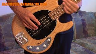 Bass Musician Magazine Reviews The StingRay 4 Bass