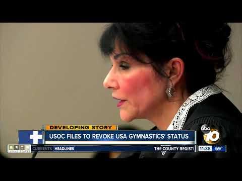 USOC files to revoke USA Gymnastics' status