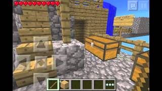 Minecraft PE House tour - W/ Slugger8585