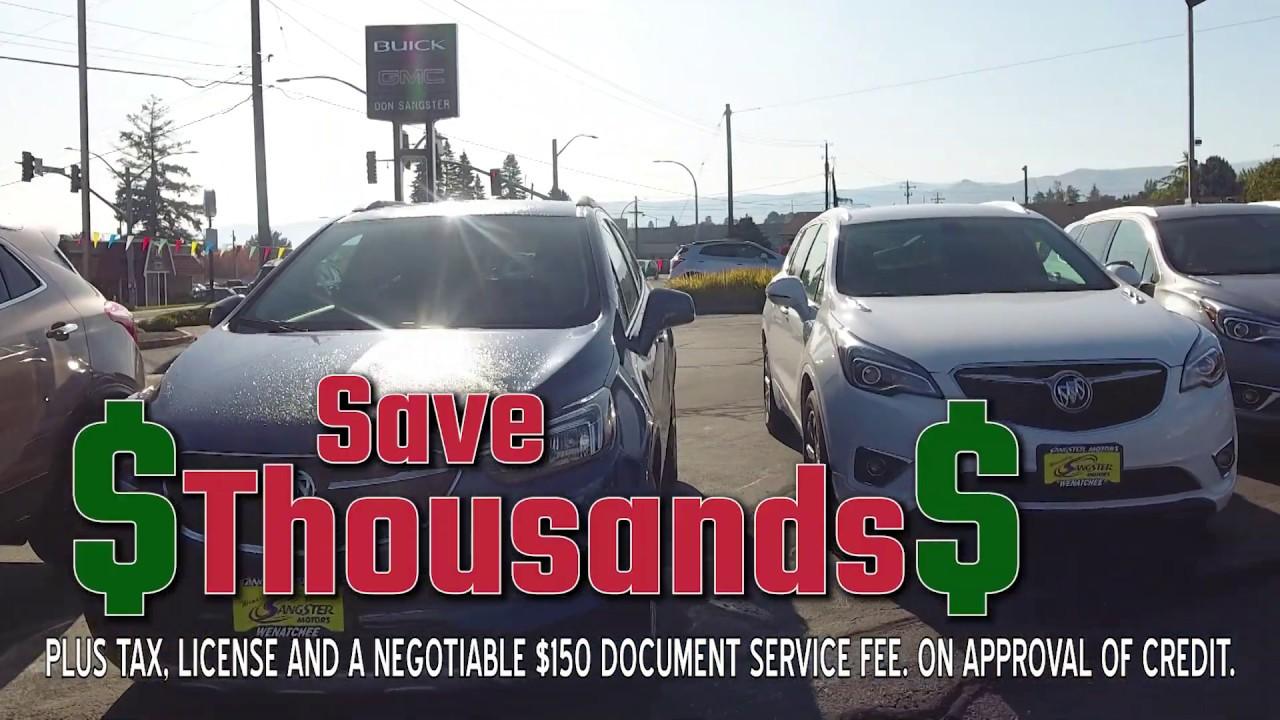 Wenatchee Car Dealers >> Sangster Motors In Wenatchee Your Ellensburg And Chelan