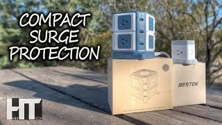 RV SPACE SAVING 8 Outlet SURGE PROTECTOR And USB 3 Outlet Power Strip By BESTEK Review