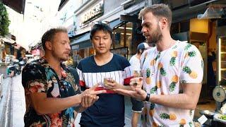 CHABY HAN İLE SOKAK LEZZETLERİ #4 w/ Louis & Michele - Tatlıcılar