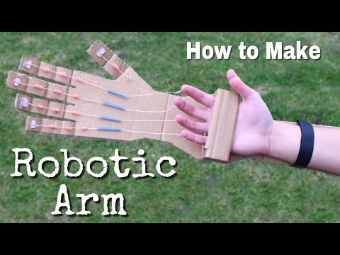 Thumbnail: How to Make a Robotic Arm at Home out of Cardboard